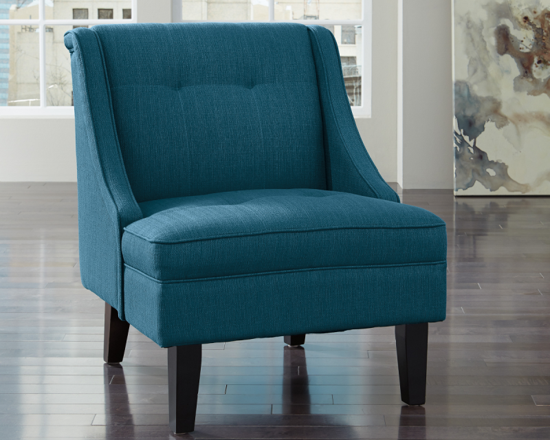 Ashley Clarinda Blue Accent Chair, Blue Accent Chairs For Living Room