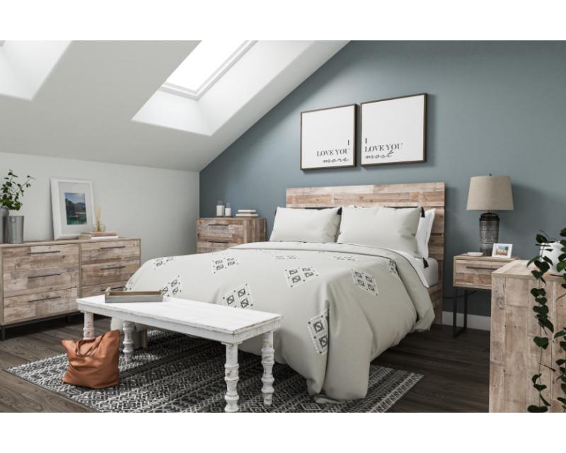 Brymont Dark Gray Queen Bedroom Set, Ashley Furniture Harmony Bedroom Set